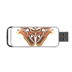 Butterfly Animal Insect Isolated Portable Usb Flash (one Side) by Simbadda