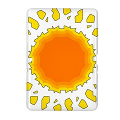 Sun Hot Orange Yrllow Light Samsung Galaxy Tab 2 (10 1 ) P5100 Hardshell Case  by Alisyart