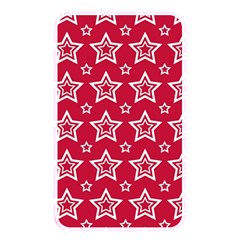 Star Red White Line Space Memory Card Reader by Alisyart