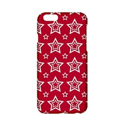 Star Red White Line Space Apple Iphone 6/6s Hardshell Case by Alisyart