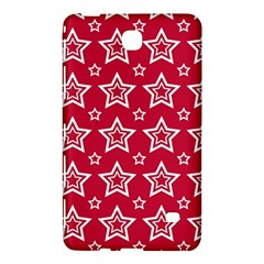 Star Red White Line Space Samsung Galaxy Tab 4 (8 ) Hardshell Case  by Alisyart