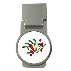 Tomatoes Carrots Money Clips (round)  by Alisyart