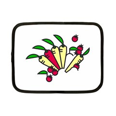 Tomatoes Carrots Netbook Case (small)  by Alisyart