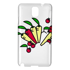 Tomatoes Carrots Samsung Galaxy Note 3 N9005 Hardshell Case by Alisyart