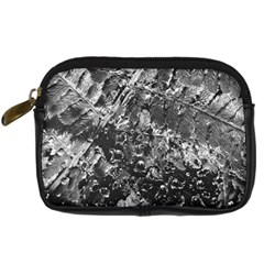 Fern Raindrops Spiderweb Cobweb Digital Camera Cases by Simbadda