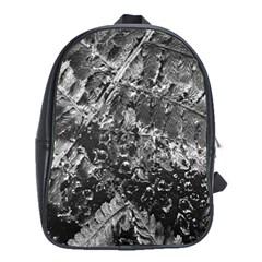 Fern Raindrops Spiderweb Cobweb School Bags(large)  by Simbadda
