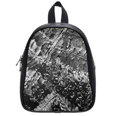 Fern Raindrops Spiderweb Cobweb School Bags (small)  by Simbadda