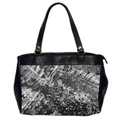 Fern Raindrops Spiderweb Cobweb Office Handbags (2 Sides)  by Simbadda