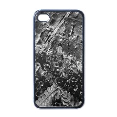 Fern Raindrops Spiderweb Cobweb Apple Iphone 4 Case (black) by Simbadda