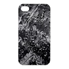 Fern Raindrops Spiderweb Cobweb Apple Iphone 4/4s Premium Hardshell Case by Simbadda
