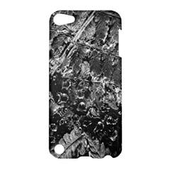Fern Raindrops Spiderweb Cobweb Apple Ipod Touch 5 Hardshell Case by Simbadda