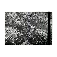 Fern Raindrops Spiderweb Cobweb Apple Ipad Mini Flip Case by Simbadda