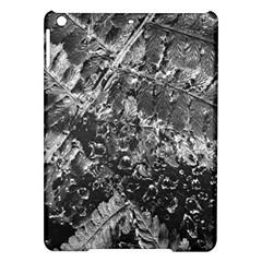 Fern Raindrops Spiderweb Cobweb Ipad Air Hardshell Cases by Simbadda