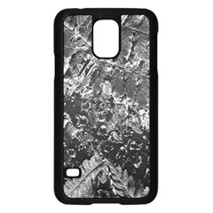 Fern Raindrops Spiderweb Cobweb Samsung Galaxy S5 Case (black) by Simbadda