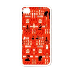 Traditional Wayang Apple Iphone 4 Case (white) by Alisyart