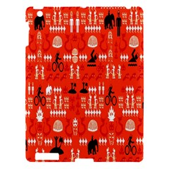 Traditional Wayang Apple Ipad 3/4 Hardshell Case by Alisyart