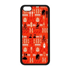 Traditional Wayang Apple Iphone 5c Seamless Case (black) by Alisyart