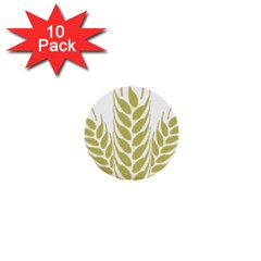 Tree Wheat 1  Mini Buttons (10 Pack)  by Alisyart