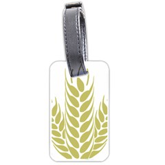 Tree Wheat Luggage Tags (one Side)  by Alisyart