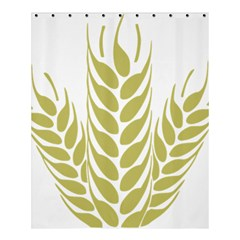 Tree Wheat Shower Curtain 60  X 72  (medium)  by Alisyart