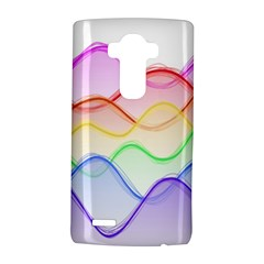 Twizzling Brain Waves Neon Wave Rainbow Color Pink Red Yellow Green Purple Blue Lg G4 Hardshell Case by Alisyart