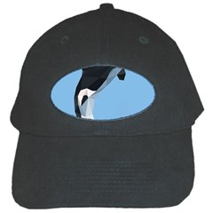Whale Animals Sea Beach Blue Jump Illustrations Black Cap by Alisyart