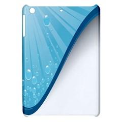 Water Bubble Waves Blue Wave Apple Ipad Mini Hardshell Case by Alisyart