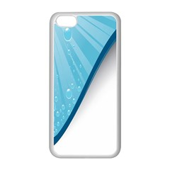 Water Bubble Waves Blue Wave Apple Iphone 5c Seamless Case (white) by Alisyart