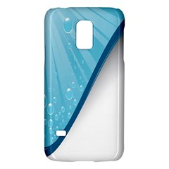 Water Bubble Waves Blue Wave Galaxy S5 Mini by Alisyart