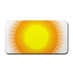 Sunlight Sun Orange Yellow Light Medium Bar Mats by Alisyart