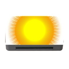 Sunlight Sun Orange Yellow Light Memory Card Reader With Cf by Alisyart