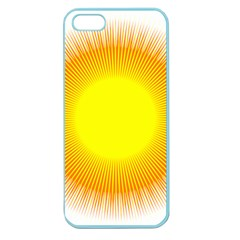 Sunlight Sun Orange Yellow Light Apple Seamless Iphone 5 Case (color) by Alisyart