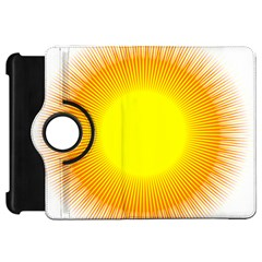 Sunlight Sun Orange Yellow Light Kindle Fire Hd 7  by Alisyart