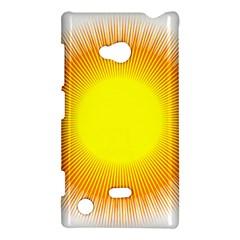 Sunlight Sun Orange Yellow Light Nokia Lumia 720 by Alisyart