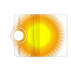 Sunlight Sun Orange Yellow Light Kindle Fire Hd (2013) Flip 360 Case by Alisyart