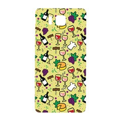 Wine Cheede Fruit Purple Yellow Samsung Galaxy Alpha Hardshell Back Case by Alisyart