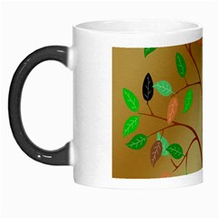 Tree Root Leaves Contour Outlines Morph Mugs by Simbadda