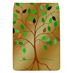 Tree Root Leaves Contour Outlines Flap Covers (s)  by Simbadda