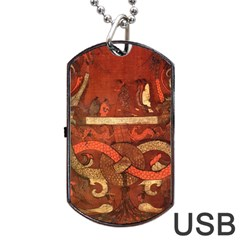 Works From The Local Dog Tag Usb Flash (two Sides) by Simbadda