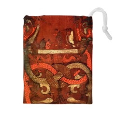 Works From The Local Drawstring Pouches (extra Large) by Simbadda