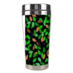 Leaves True Leaves Autumn Green Stainless Steel Travel Tumblers by Simbadda