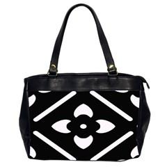 Pattern Background Office Handbags (2 Sides)  by Simbadda