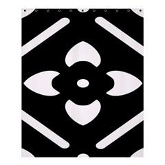 Pattern Background Shower Curtain 60  X 72  (medium)  by Simbadda