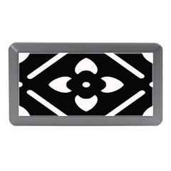 Pattern Background Memory Card Reader (mini) by Simbadda