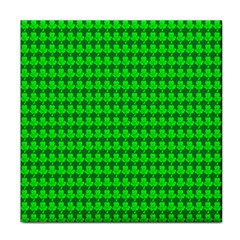 St  Patricks Day Green Tile Coasters by PhotoNOLA