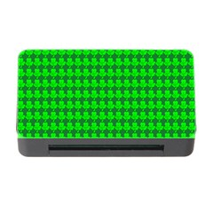 St  Patricks Day Green Memory Card Reader With Cf by PhotoNOLA
