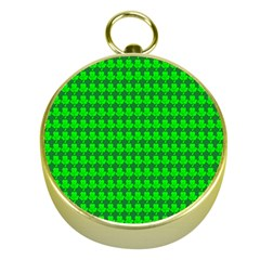 St  Patricks Day Green Gold Compasses by PhotoNOLA