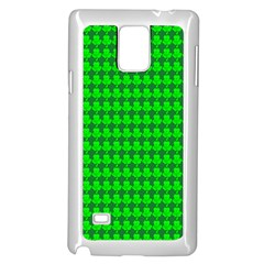 St  Patricks Day Green Samsung Galaxy Note 4 Case (white) by PhotoNOLA