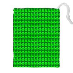 St  Patricks Day Green Drawstring Pouches (xxl) by PhotoNOLA