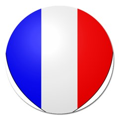 Shield On The French Senate Entrance Magnet 5  (round) by abbeyz71